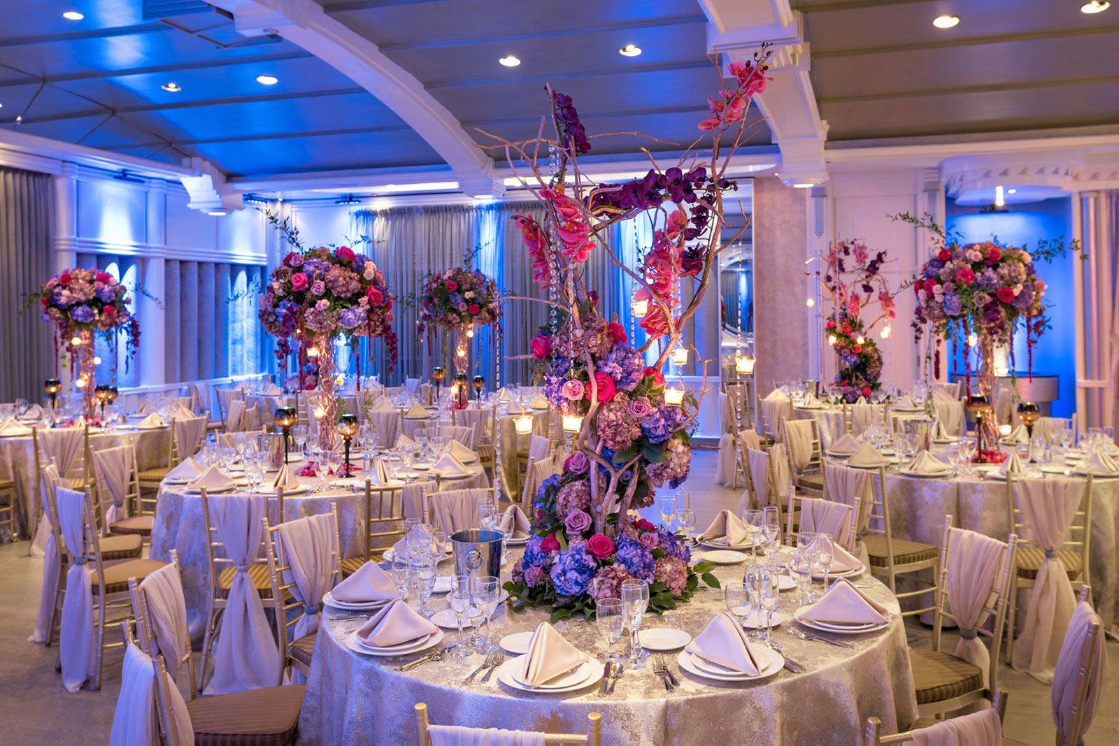 Chateau Briand Normandy Ballroom Tables