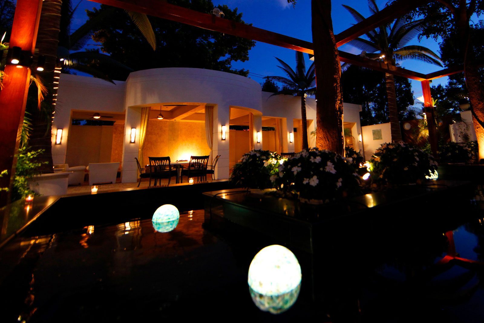 Chateau Briand Outdoor Night Oasis