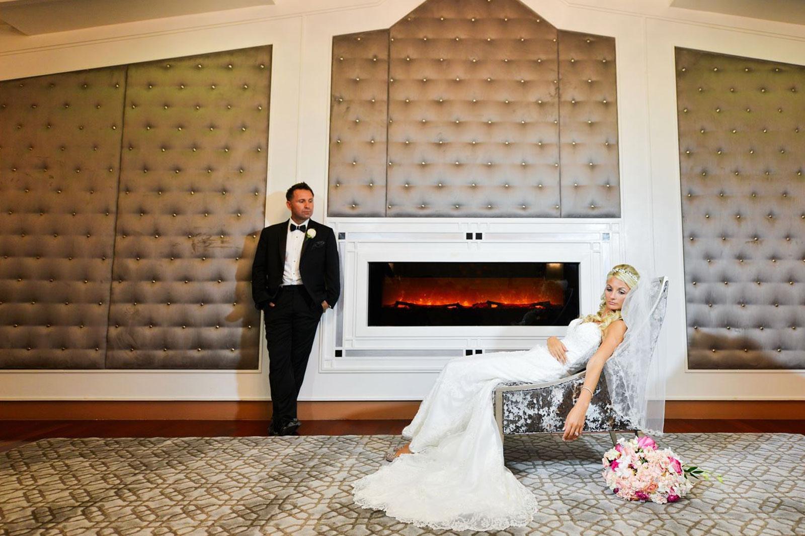 Chateau Briand Indoor Wedding