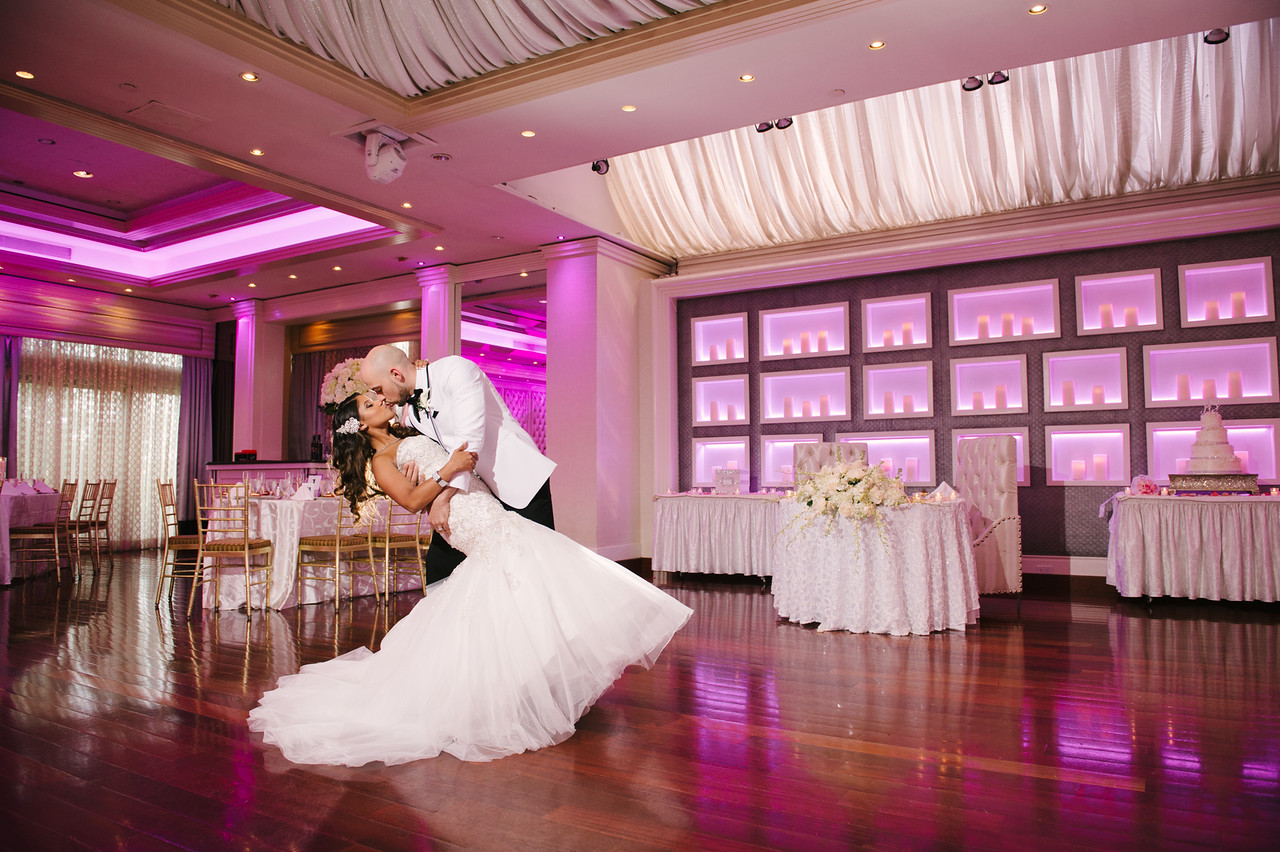 Chateau Briand Saturnia Ballroom Couple Dip