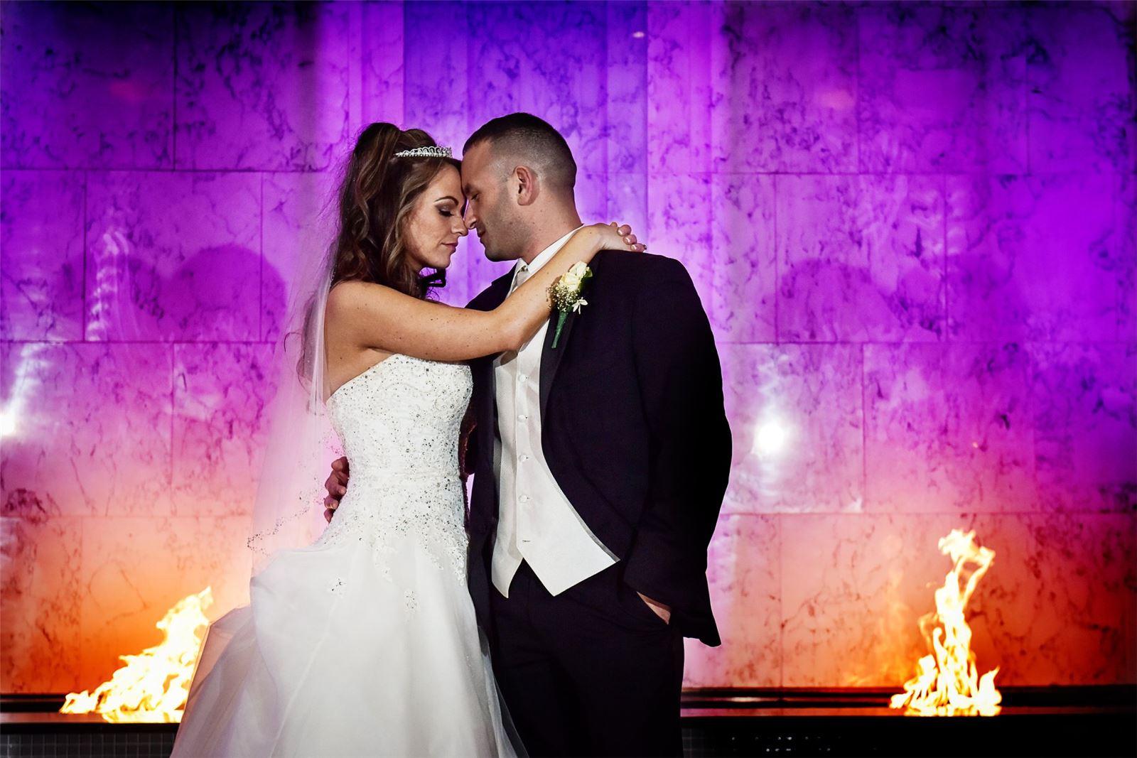 Chateau Briand Close Wedding Couple