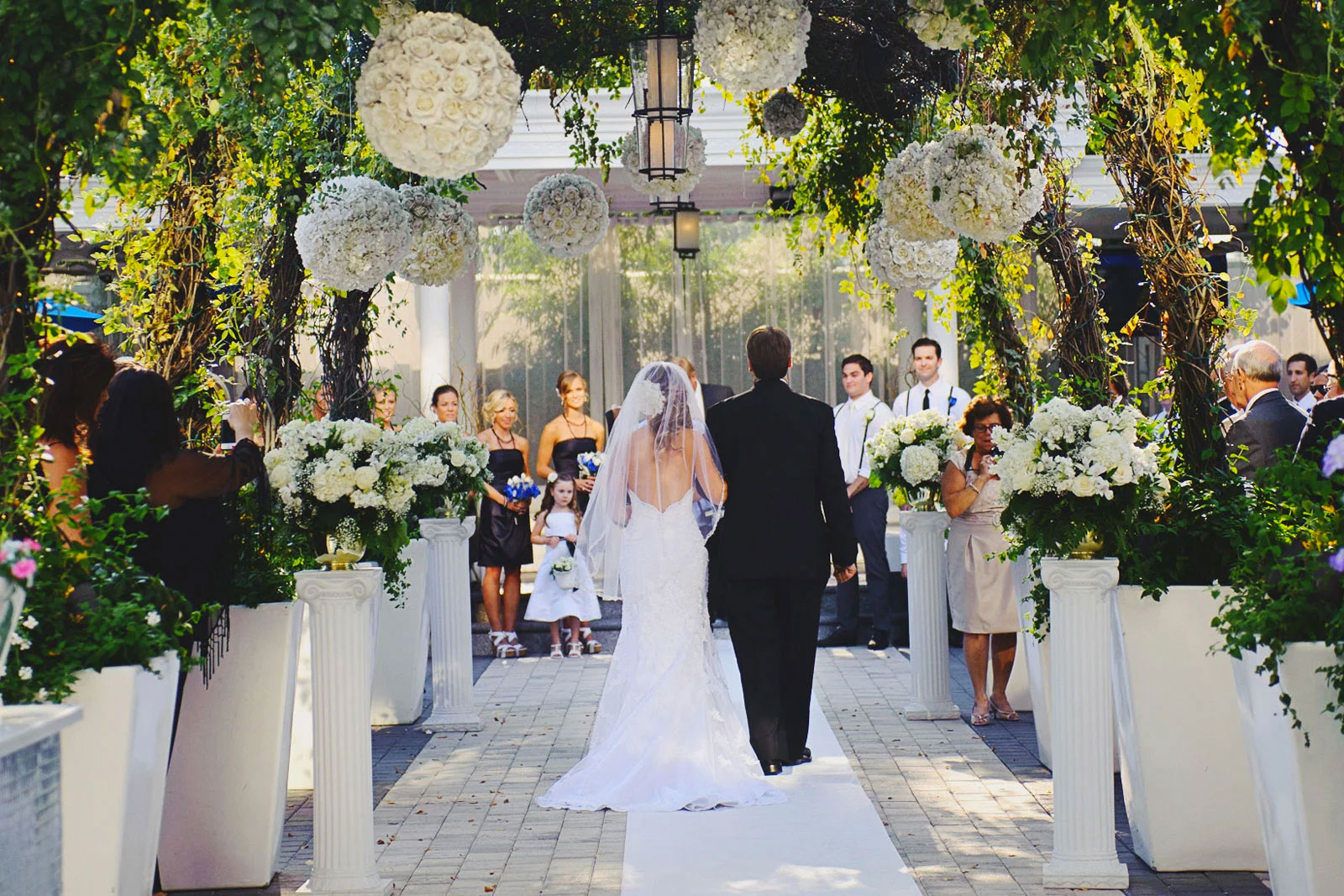 Chateau Briand Wedding Walk