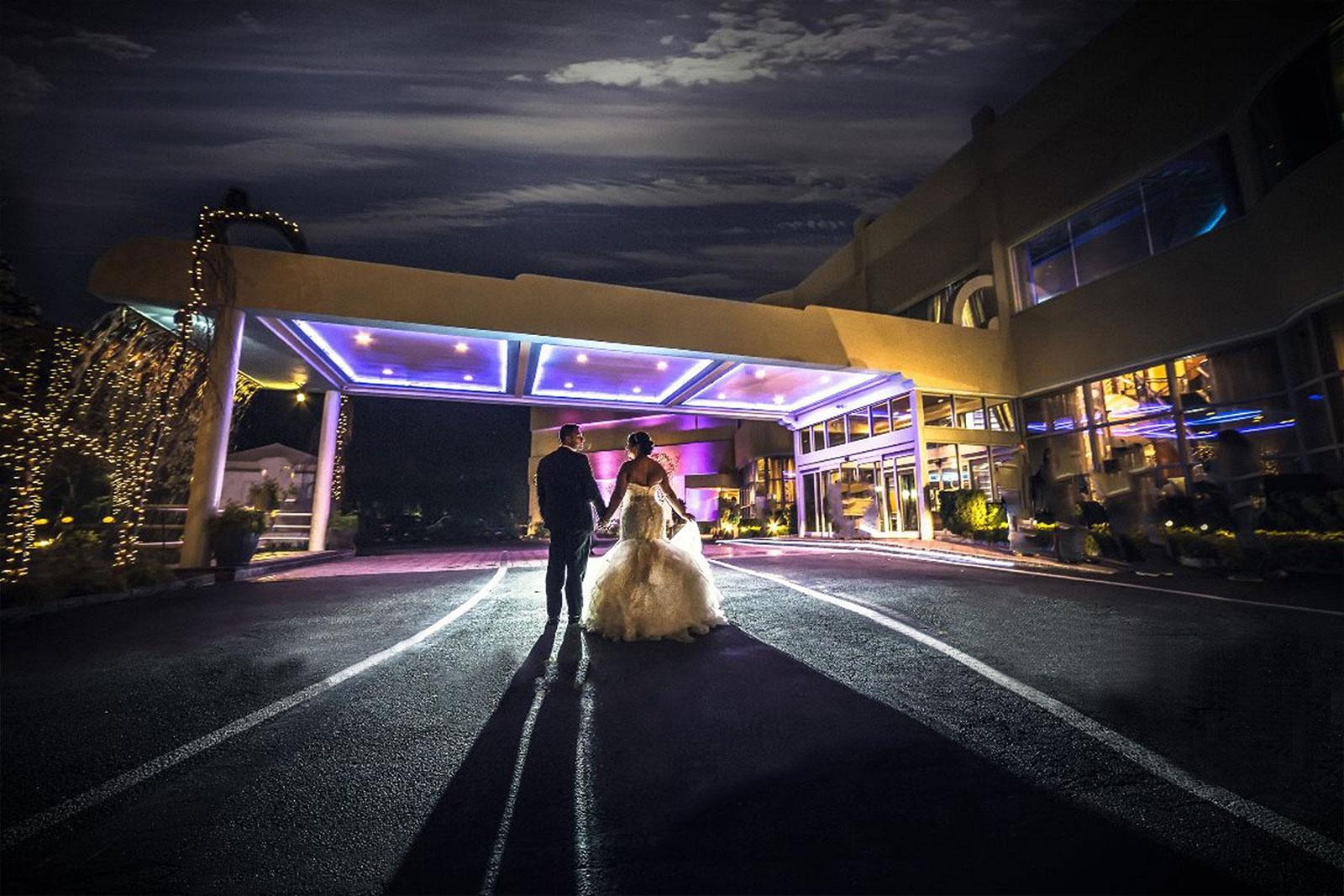 Chateau Briand Wedding Lights