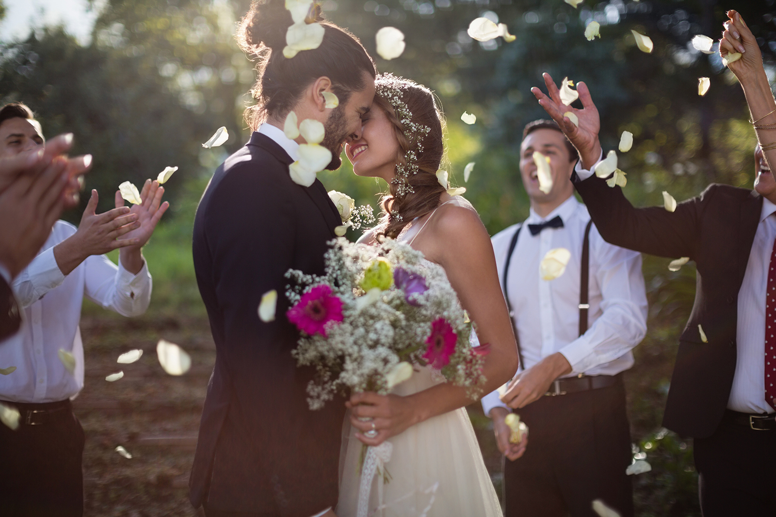 Five Ways To Truly Enjoy Your Wedding Day